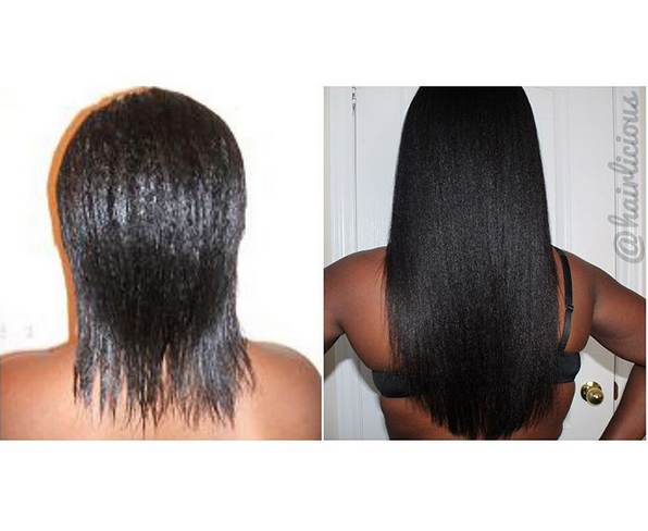 Sunshyne's Relaxed Hair Journey @hairlicious - Black Hair ...
