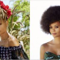 Thandie Newton Is Serving Natural Hair Realness In Her Spread For New African Woman Magazine [Gallery]