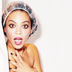 beyonce-in-shower-with-shower-cap