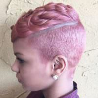 The Pink Pixie Done By @salonchristol