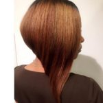 Sharp Angled Bob By Shana Reynolds Hair stylist at Transformations Salon NC