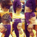 Purple Crochet Havana Twist Style….Unique! @tzipporahbraids843