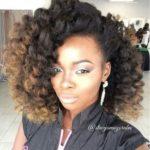 Lovely Natural Hairstyle @stacyamoyaruba