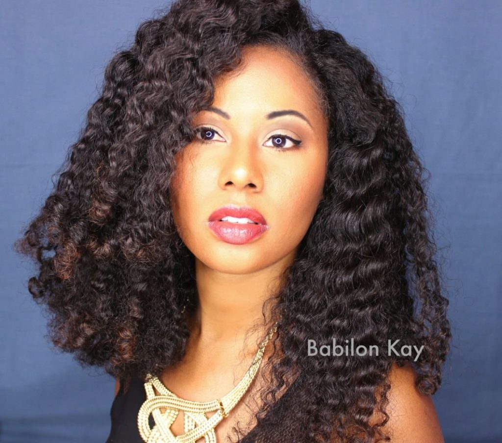 Braid Out With Flaxseed Gel On Texlaxed Hair Or Natural Hair