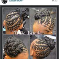 Mad Skills on This Kids Hairstyle @tcdabraider