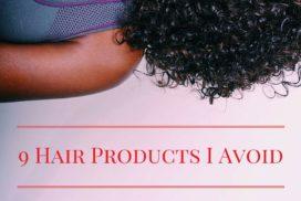 9 products i avoid