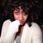 Pretty Curly Fro @Sheneka