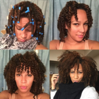 Crushing on this twist and curl by @ _hernameisme