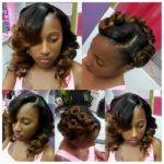 Cute Pin Up On  Weave @chiney'sfinesse