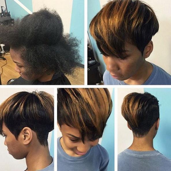 short haircuts @salonpk