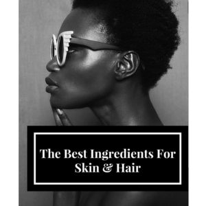 ingredients of hair and skin