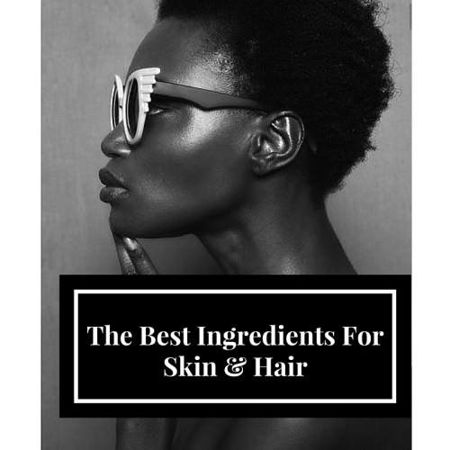 ingredients of hair and skin