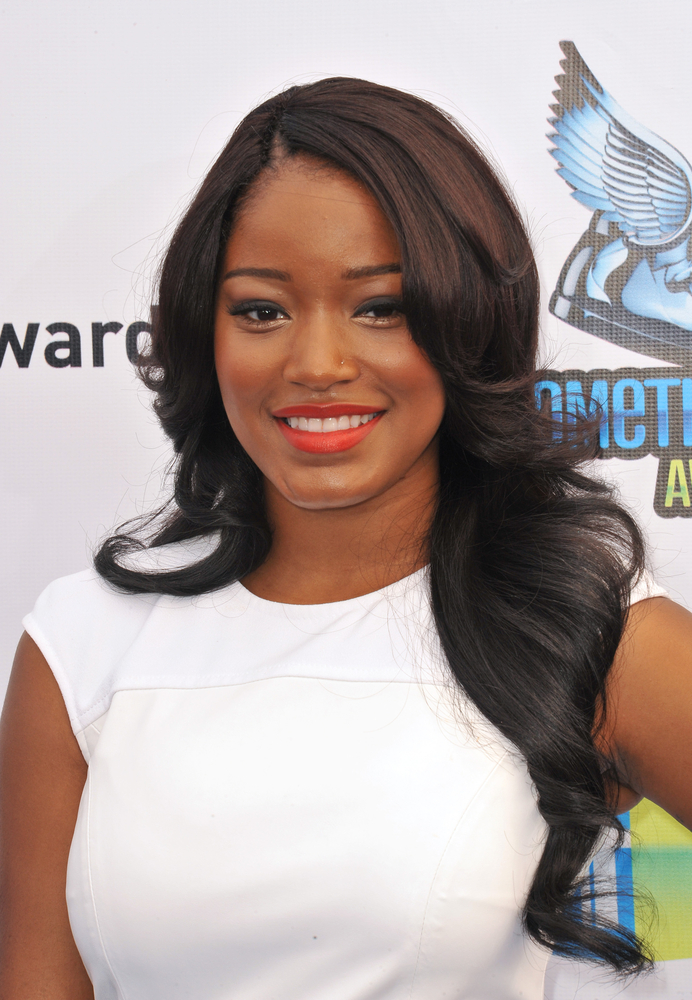 Keke Palmer Reveals To Essence That She Half Relaxers Her Hair To