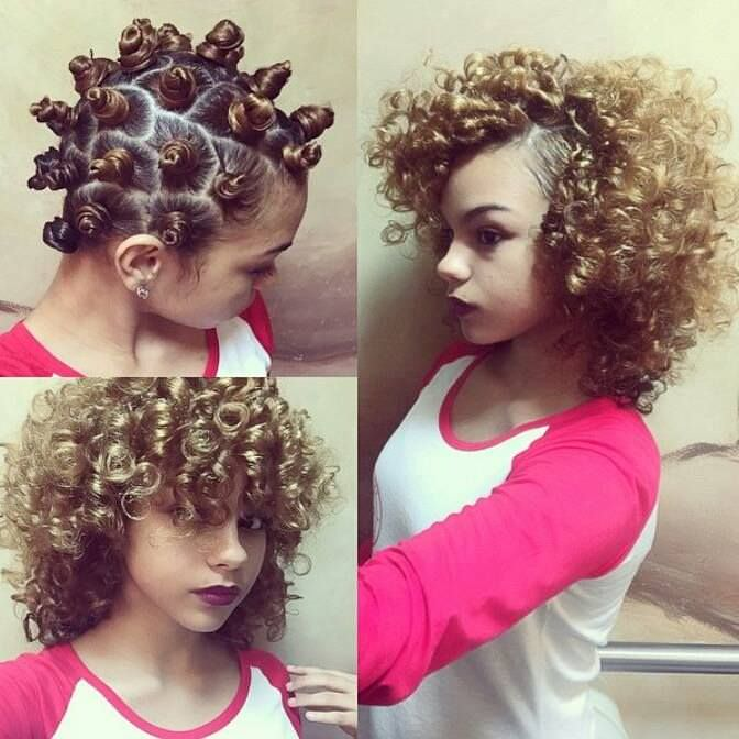 bantu knot out 1