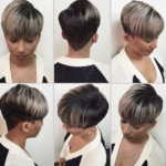 This Gray N' Black Combo is Too Cute @hairbylatise
