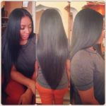Full Head Weave; Looks Realistic