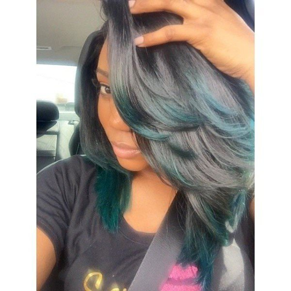 Full and Bouncy Sew-in - Black Hair Information