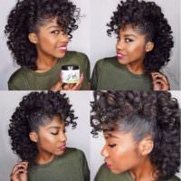 A Fro Hawk To Die For!