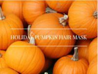 Easy DIY Holiday Pumpkin Hair Mask Recipe For Dry Hair