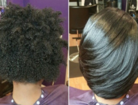 How To Get Straightened Hair Laid Like It's a Relaxer