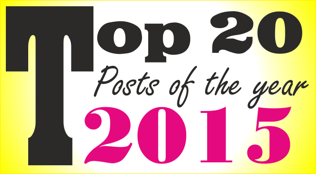 Top 20 posts of the year 2015