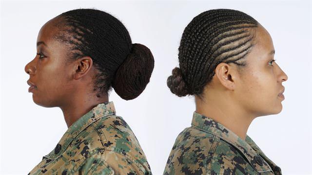 Uniform army hair regulations