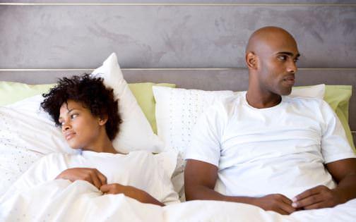 black woman and man