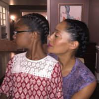 Tracee Ellis Ross Twinning With Her TV Daughter @marsaisworld #Blackish
