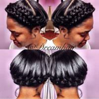 Great Protective Crown Braids