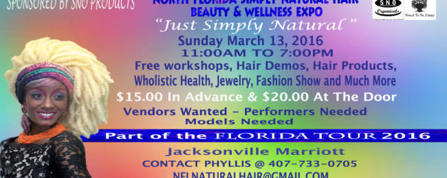 North FL Simply Natural Hair Beauty & Wellness Expo