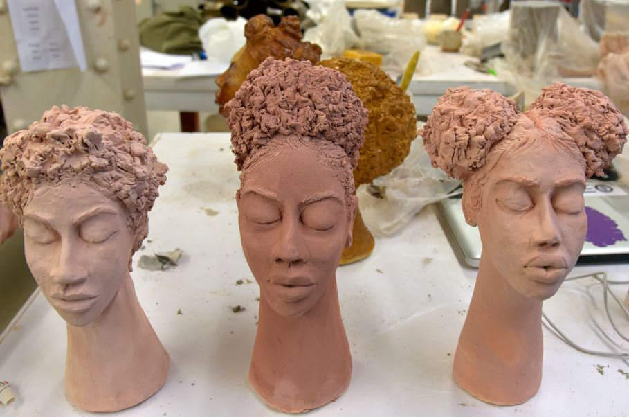 natural hair ceramic