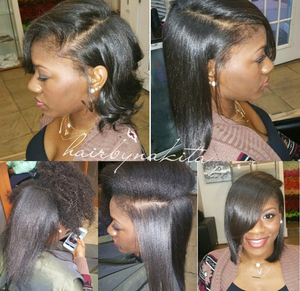 Flat Iron Slayage Hairbynakita Black Hair Information
