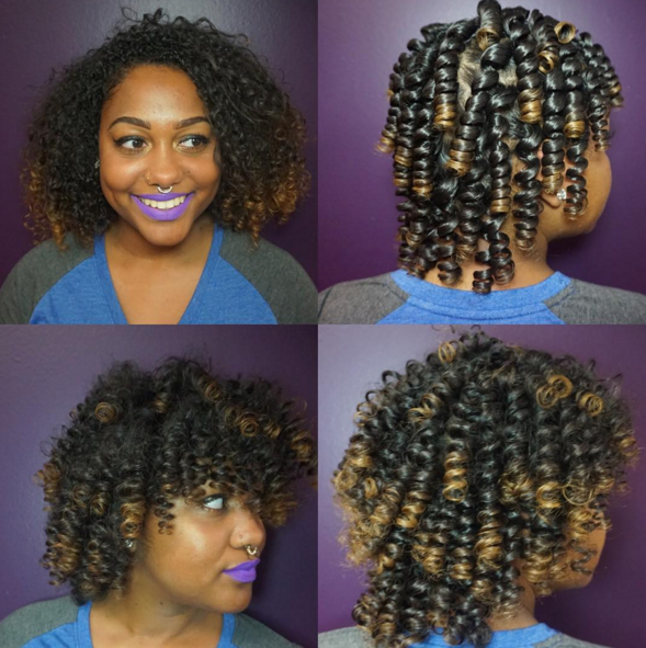 natural hairstyles @thehairmagician