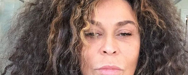 Ms. Tina Knowles Lawson Posts A 'Bed Head' Selfie That Has Everyone Talking