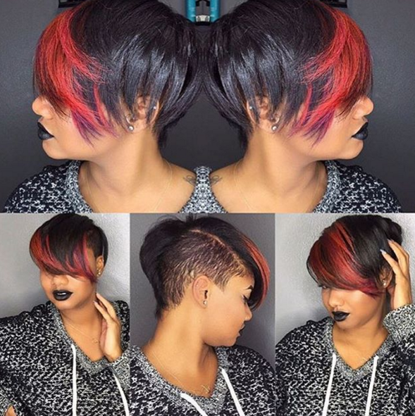 Spunky Color N Cut Caseyhena Black Hair Information