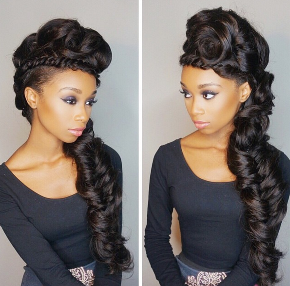 weaves wigs and extensions @officialdesiree