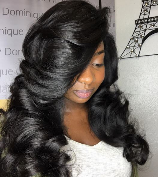 @hairartbydominique - full sew in