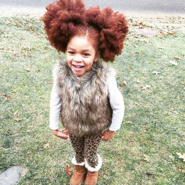The Cutest Little Red Head Redlilmissy Black Hair