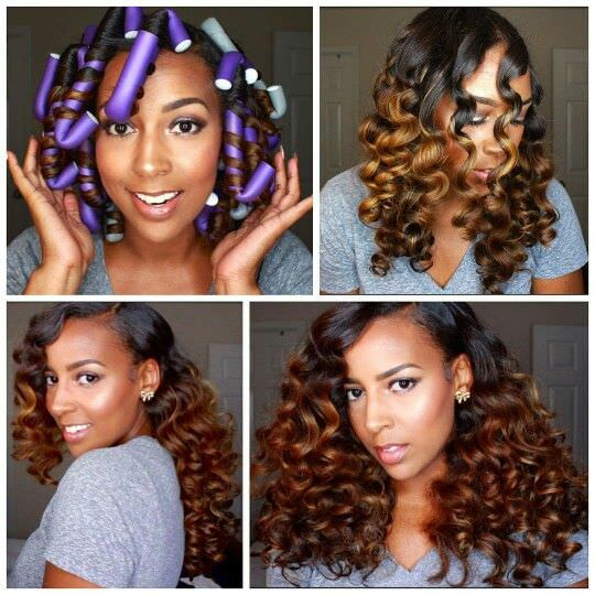 5 ways to style your hair after getting a fresh blow out black flexi rod set fandeluxe Epub