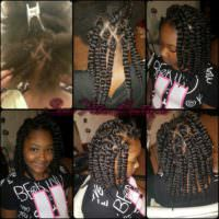Braidless Havana crochet twist