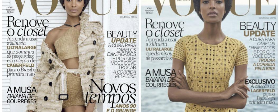 Jourdan Dunn Covers Vogue Brasil With A TWA