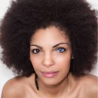Her Fro And Eyes!