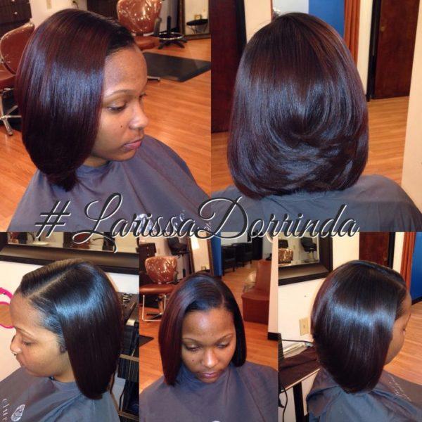 Loving This Silk Press @larissadarrinda - Black Hair ...