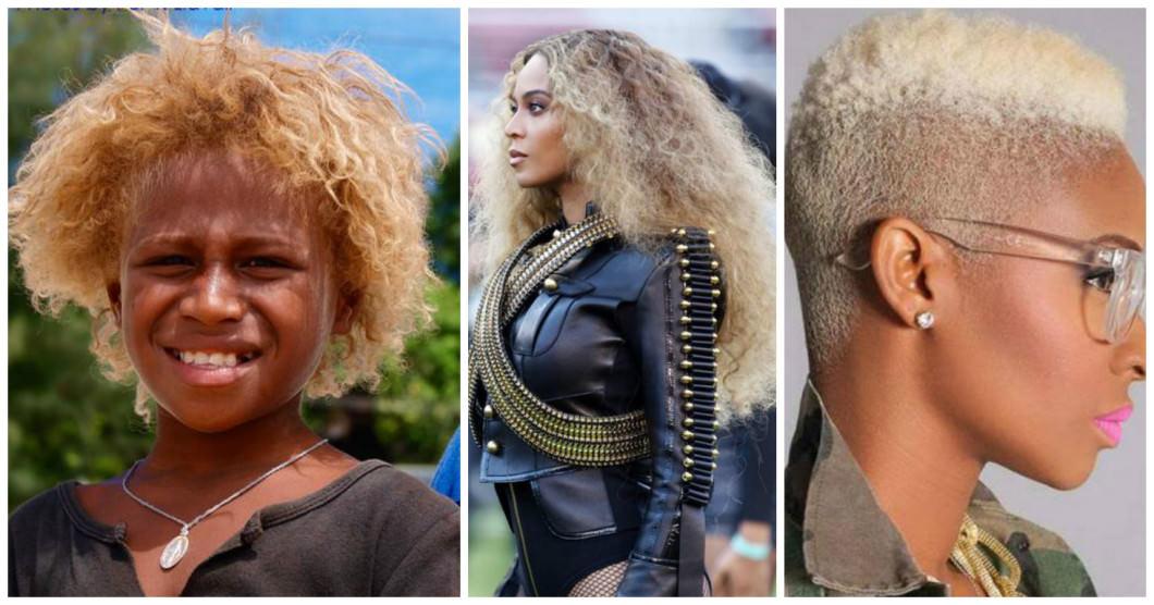 Blacks on blond