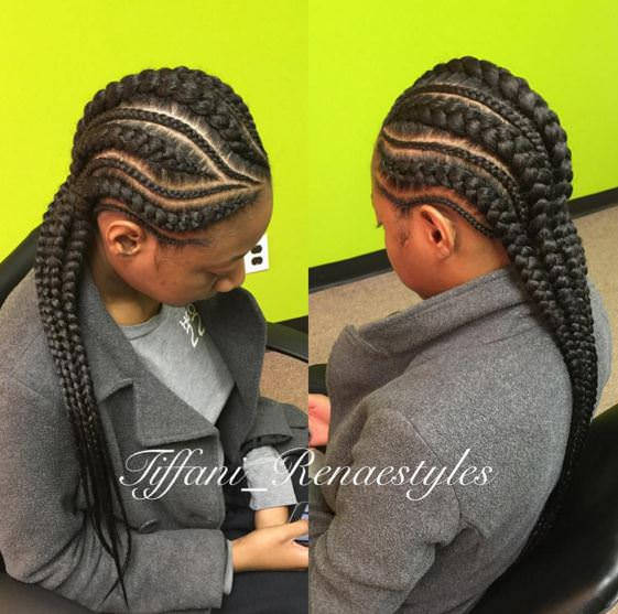 Jumbo Cornrow Braids Are A Thing - Check Out 12 Women ...