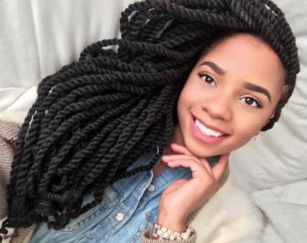 Black Hair Twist Styles Pictures: Nice Twists! @danielledarlynn_