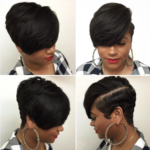 Short Healthy Hair style by @hairbylatise
