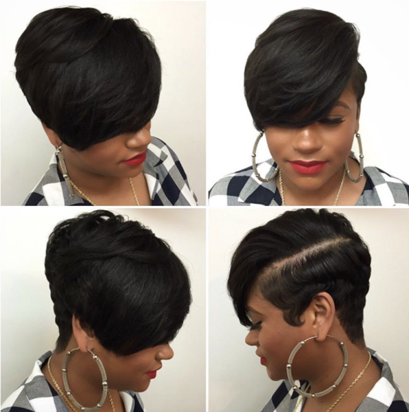 Short Healthy Hair style by hairbylatise Black Hair