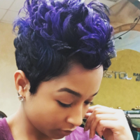 Blue-Purple Mix via @salonchristol
