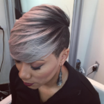 Love This Gray by @hairbylatise